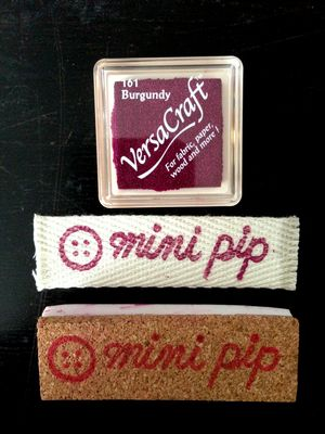 mini pip custom label
