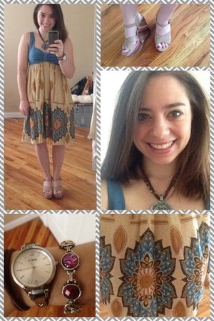 ootd-handmade dress