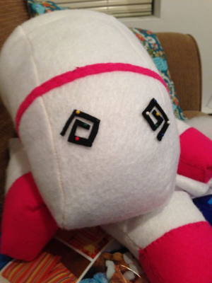 Despicable Me Felt Unicorn – trish stitched