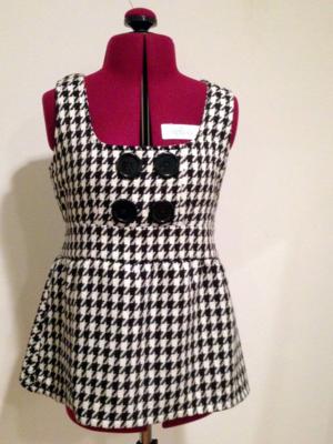 Dress to peplum-mini pip