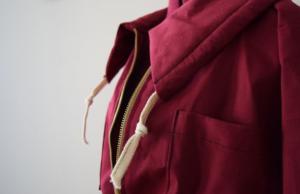 cranberry anorak- mini pip