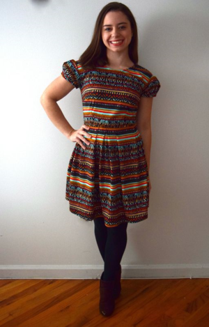 Turkey Day Dress- mini pip