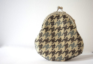 recycled coin purse- mini pip