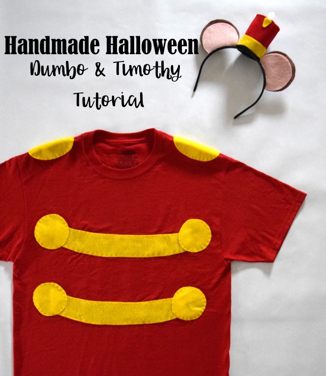 Handmade Halloween: Dumbo and Timothy