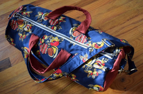 Floral Gym Bag- Mini Pip