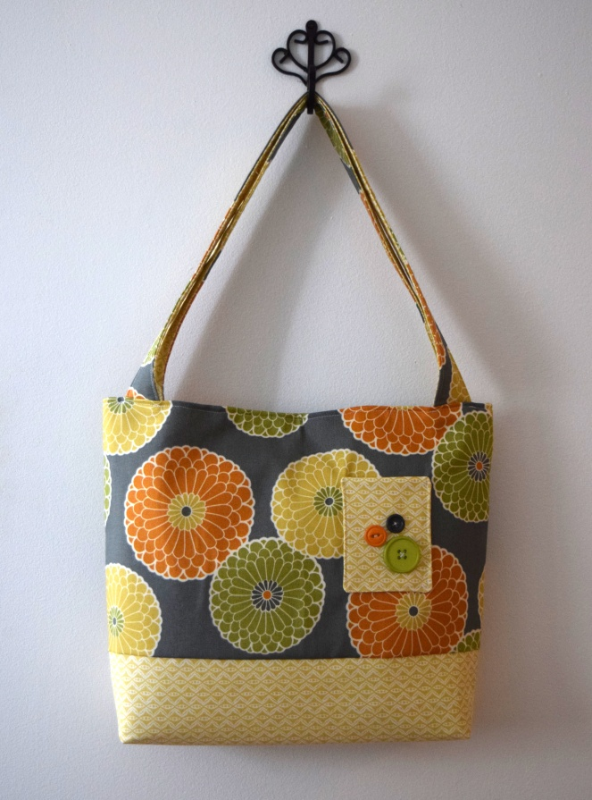 Colorful Tote - trishstitched