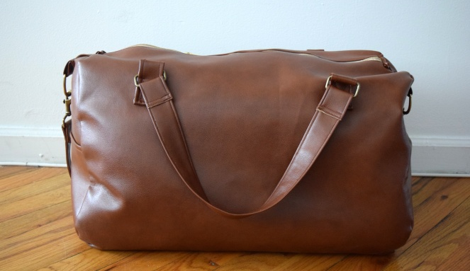 Fossil Inspired Duffle- Trish Stitched
