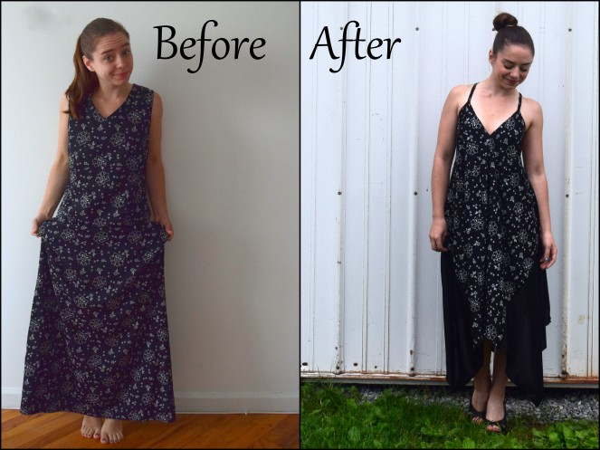 Refashioned Sparkle Dress- Trish Stitched