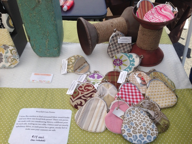 My First Craft Show- Trsh Stitched