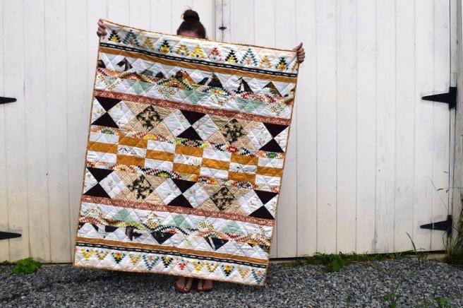 My First Quilt- A Wedding Gift