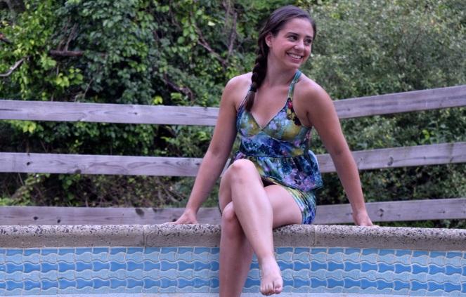 Put a Ruffle on It Swimsuit- Trish Stitched