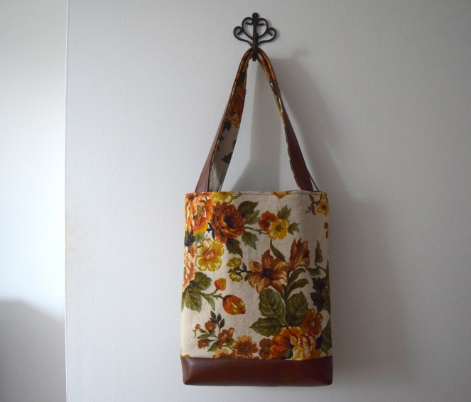 Fall Tote- Trish Stitched
