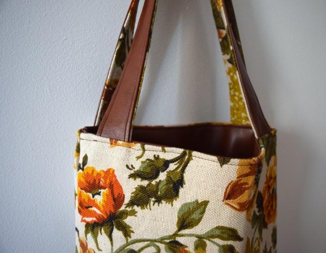Fall Tote- Trish Stitched