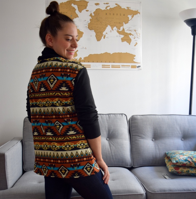 Tribal Print Oslo Cardigan- Trish Stitched