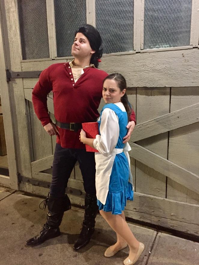 Handmade Halloween: Belle and Gaston - Trish Stitched