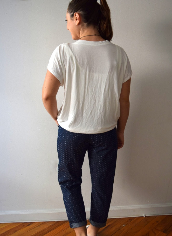 Moji Polka Dot Pants - Trish Stitched