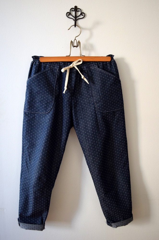 Moji Polka Dot Pants - Trish Stitched