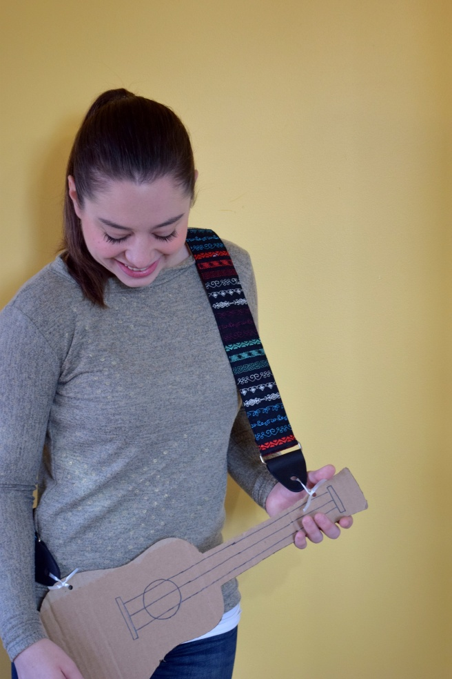 Janome Skyline S9: Guitar Strap by Trish Stitched