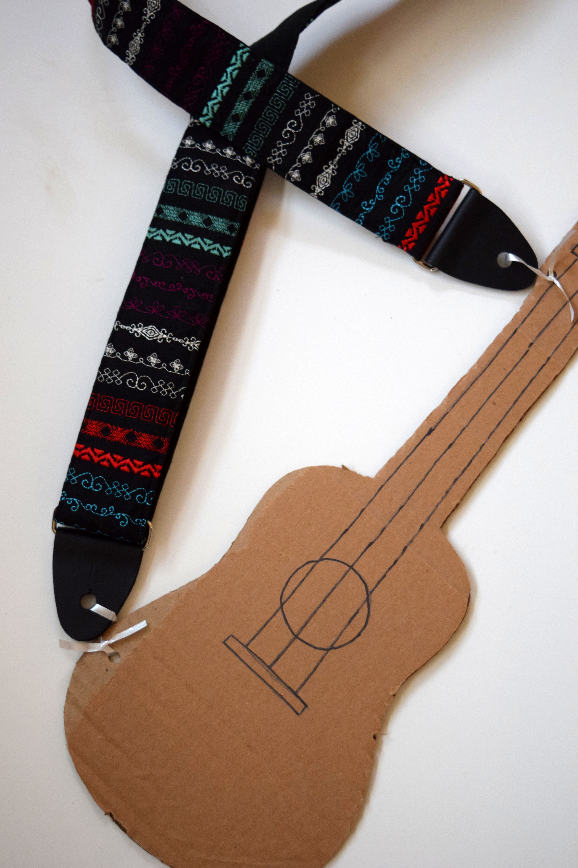 Janome Skyline S9: Guitar Strap by Trish Stitched