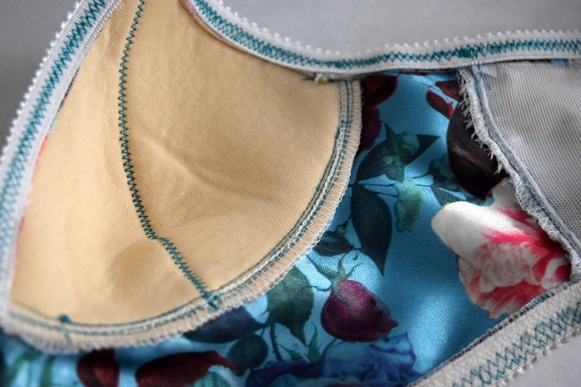 Flower Power Watson Bra - Trish Stitched