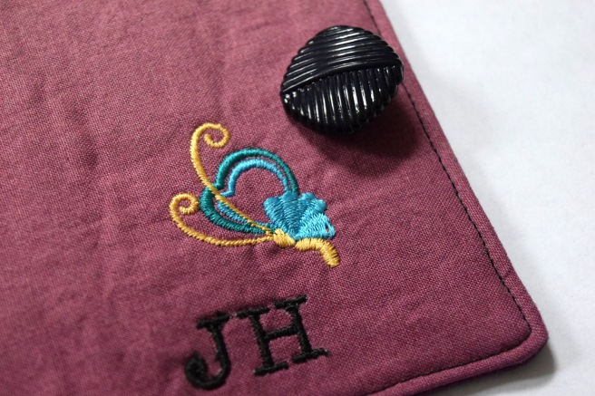 Embroidered Tea Wallet Tutorial - Trish Stitched
