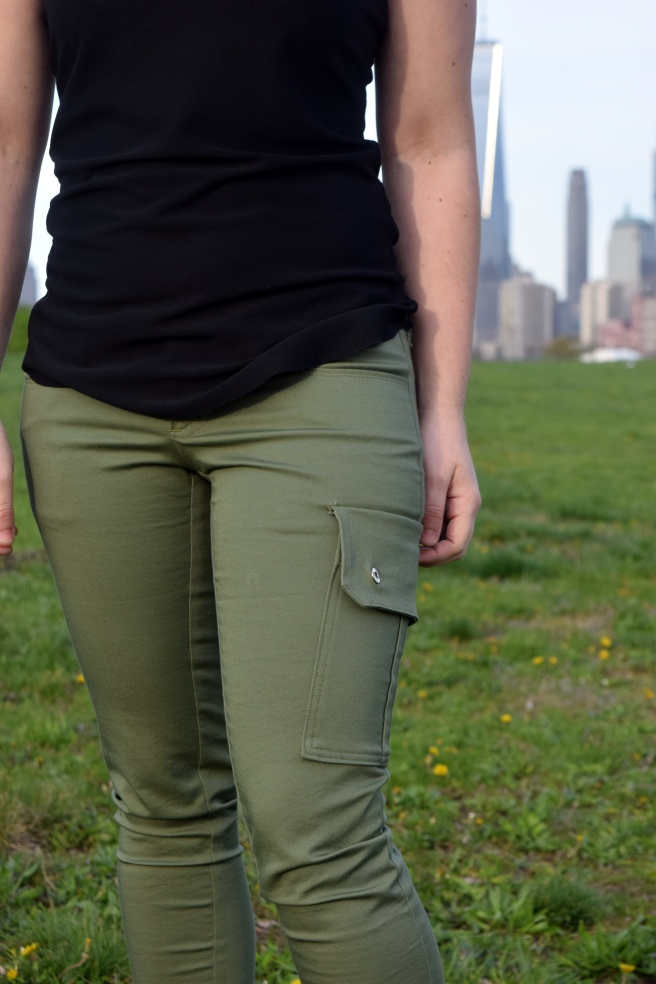 Cargo Ginger Jeans - Trish Stitched