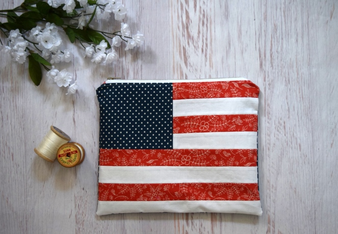 4th of July Clutch & Wristlet Tutorial - Janome - Trish Stitched