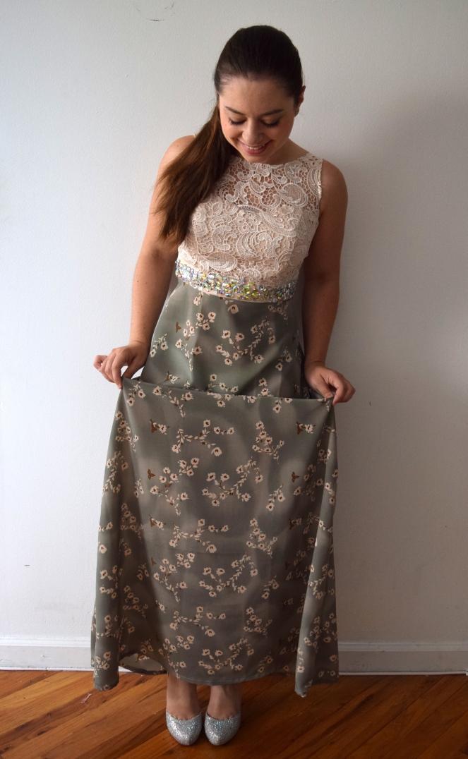 Bridesmaid Dress Refashion - Trish Stitched