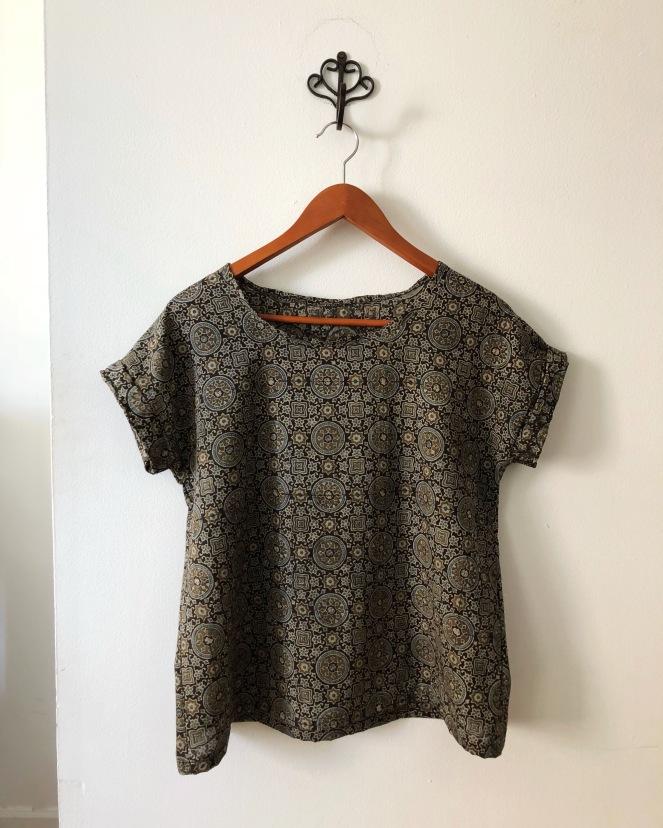 Printed Hemlock Tee - Trish Stitched