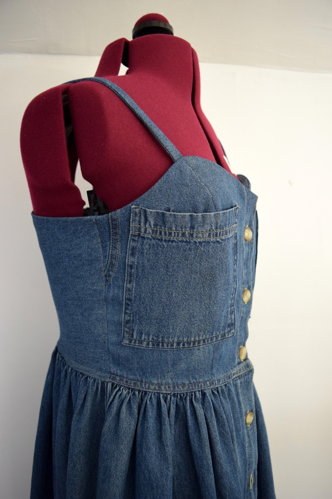 #RefashionFriday Denim Dress Refashion