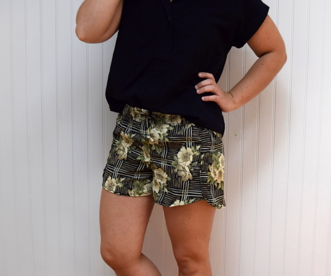 #Refashion Friday - Refashioned Nantucket Shorts Take Two!