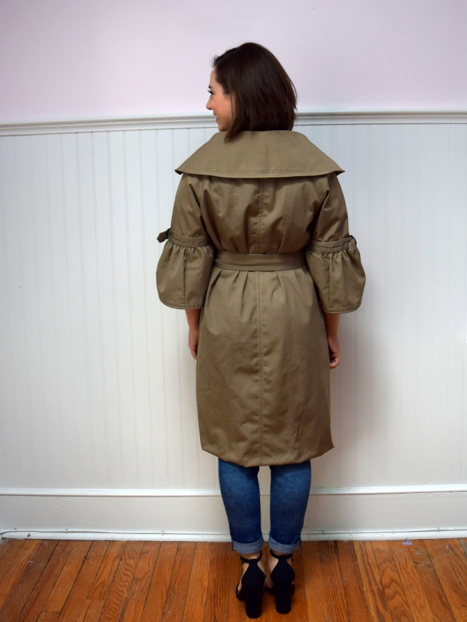 Refashioners 2018 Trench Coat- Trish Stitched