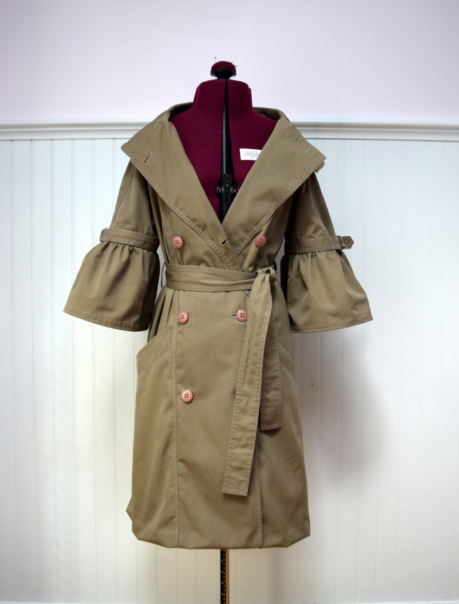 Refashioners 2018 Trench Coat- Trish Stitched