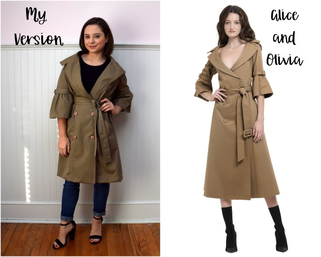 Refashioners 2018 Trench Coat - Trish Stitched