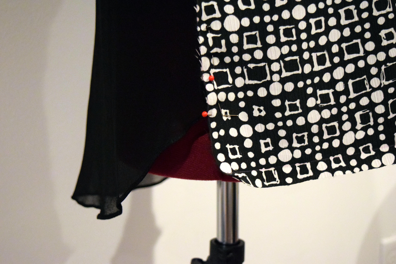 #RefashionFriday Easy Blouse Refashion - Trish Stitched