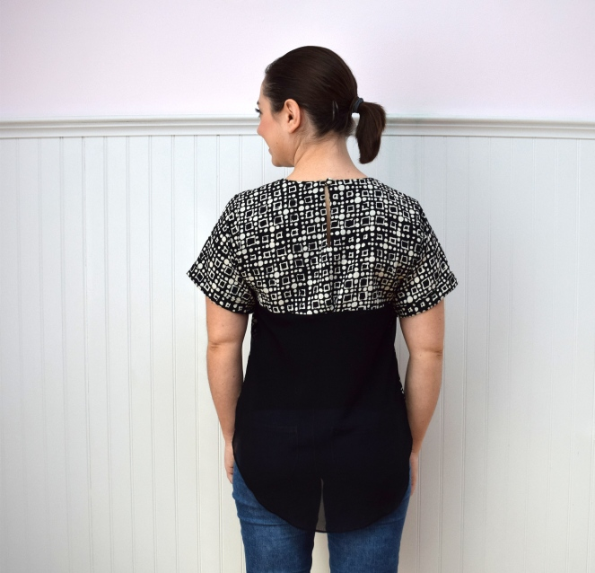 #RefashionFriday Easy Top Refashion - Trish Stitched