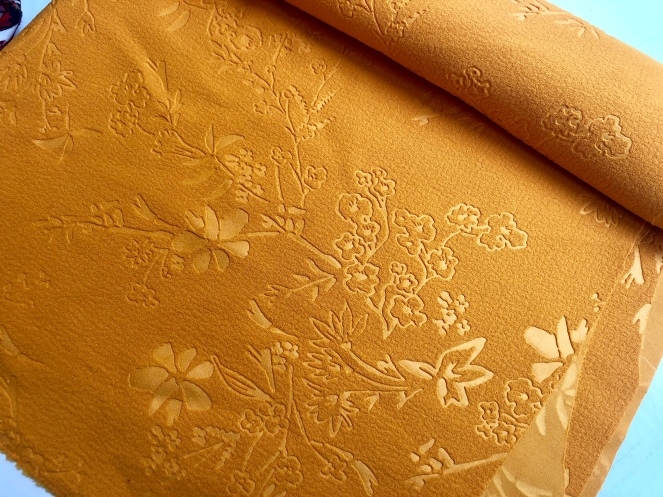 Mustard Ebony Tee - Trish Stitched