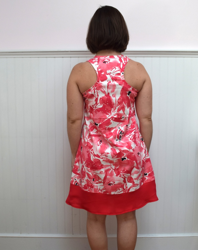 Summer Floral Rumi Tank Dress - Trish Stitched