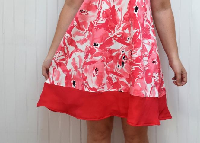 Summer Floral Rumi Tank Dress - Trish Stitched