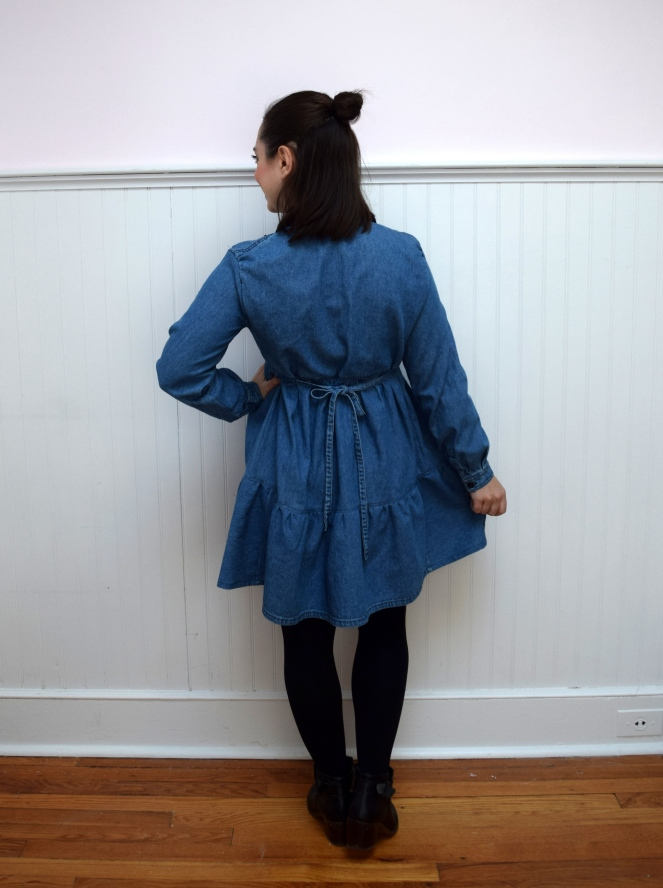 #RefashionFriday Tier Dress Refashion - Trish Stitched