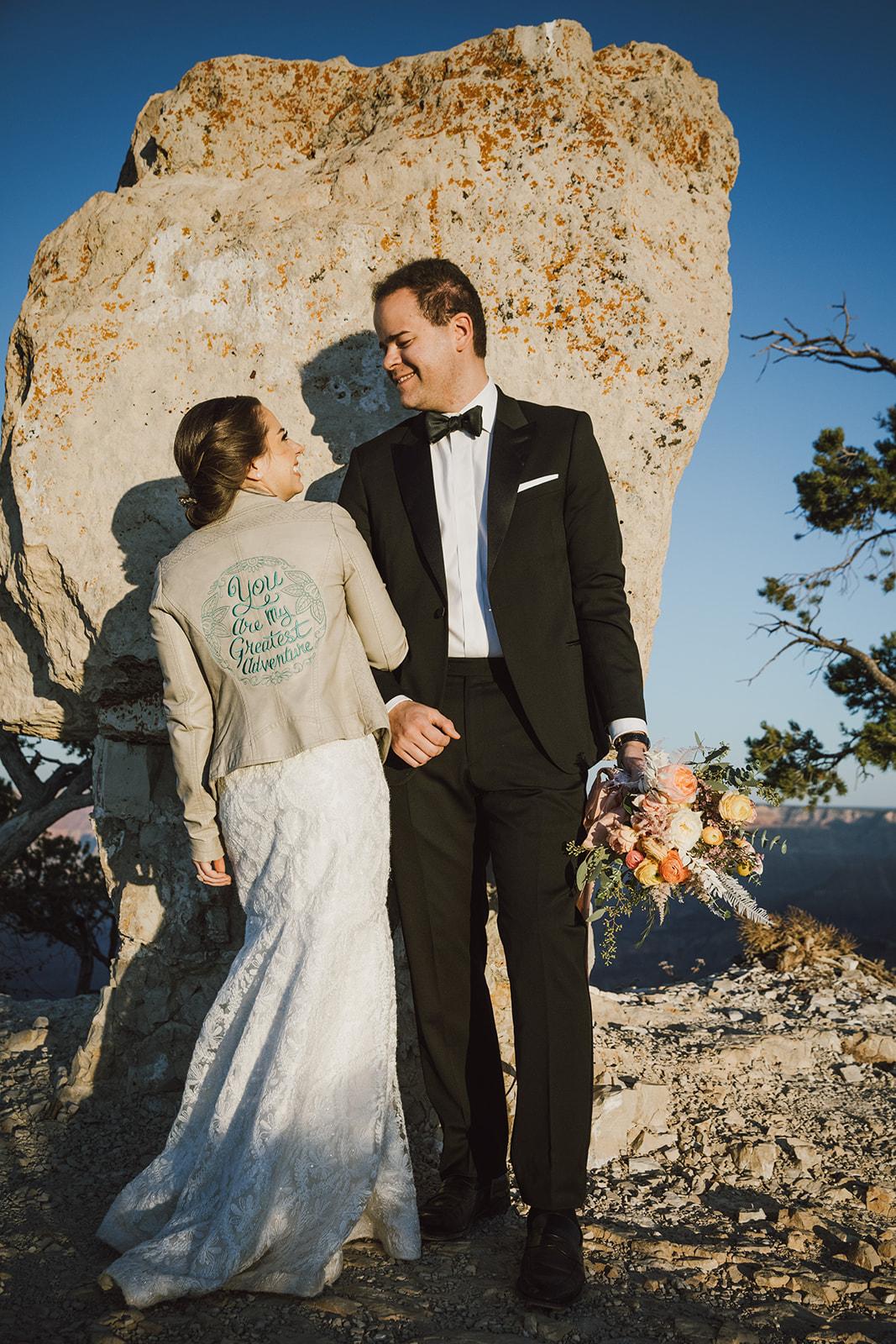 Embroidered Wedding Jacket - Janome - Trish Stitched