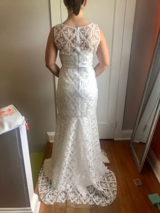 My Wedding Dress - Trish Stitched