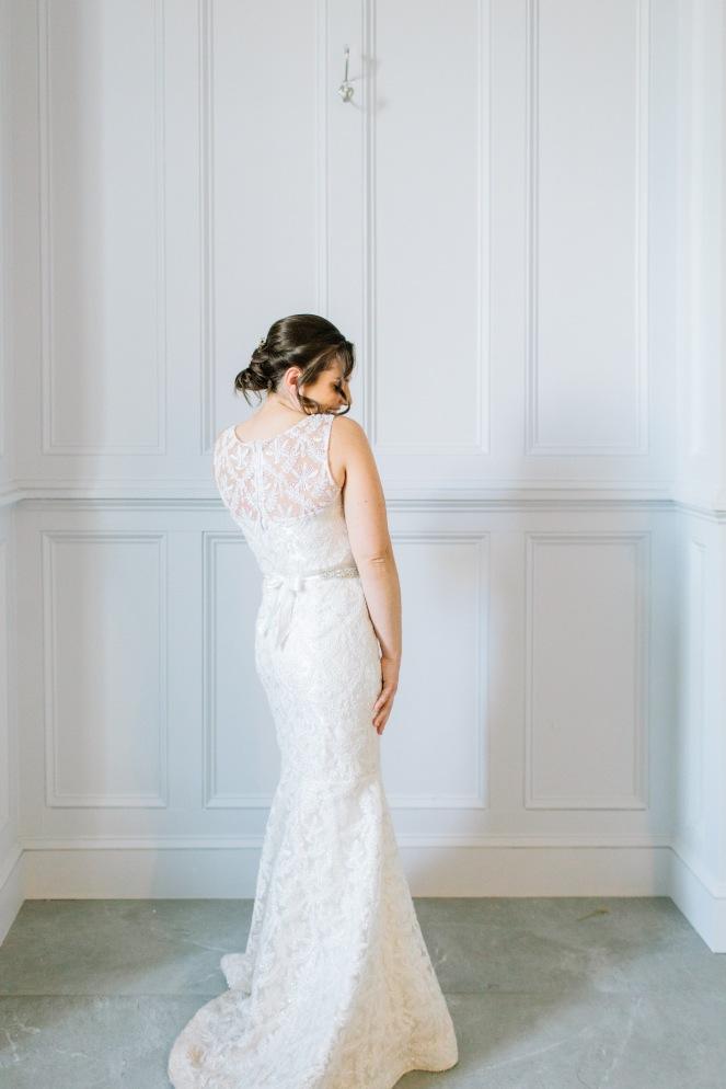 My Wedding Dress - Trish Stitched
