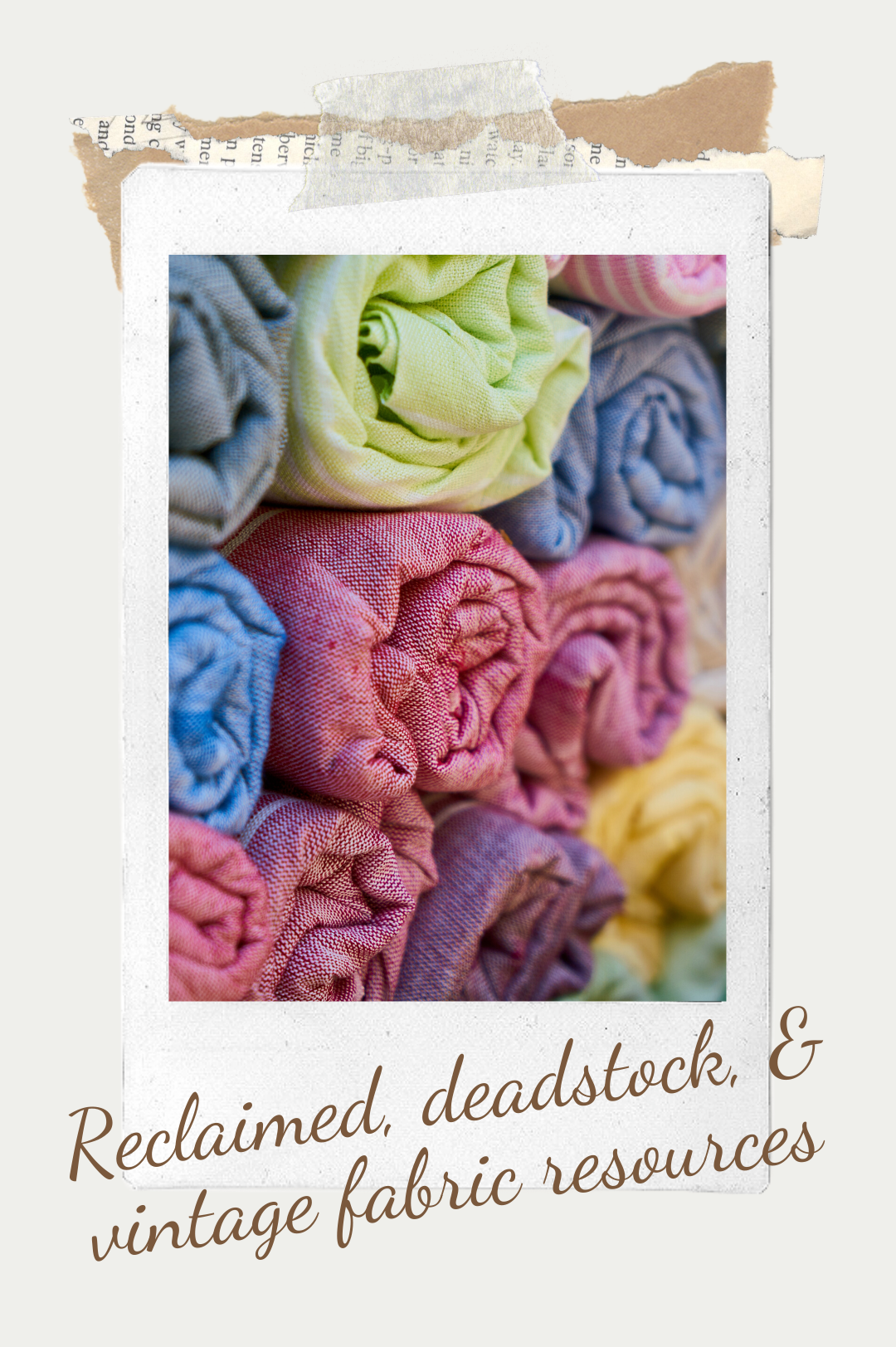 Reclaimed, Deadstock and Vintage Fabric Resources- Trish Stitched